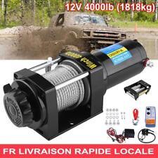4000lb Treuil électrique de câble d'acier 12V TREUIL de pour treuil bateau ATV