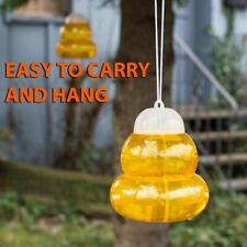Wasp Trap Fly Flies Insect Bug Hanging Honey Pot Trap Catcher Killer NoPoison A8