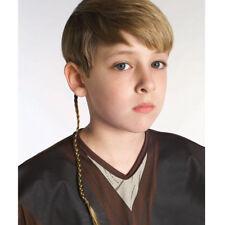 Star Wars Anakin Luke Skywalker Jedi Braid Hair Wig Halloween Costumes Accessory