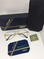FRED Lunettes America Cup Paris Eyeglasses Sunglasses Force 10 22kt Gold Plated