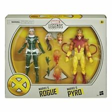 "Hasbro Marvel Legends Series Marvel?s Rogue and Pyro 6"" Action Figure (E9293)"