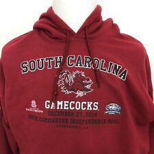 South Carolina Gamecocks 2014 Indep Bowl Sweatshirt Pullover Hoodie 2Xl Ncaa