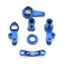 ST Racing Blue Aluminum Steering Bell Crank Set for Traxxas Slash 4x4 # ST6845B