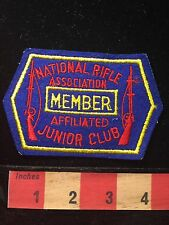 Vintage NRA Patch National Rifle Association Member Affiliated Junior Club C659