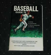 1979 Baseball Guide compliments of The New York National Guard