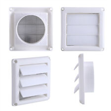 Air Ventilator Vent Grille Cover Flyscreen With 3Flaps Wall Duct Ventilation TP