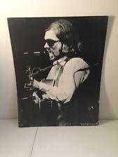 "Van Morrison Rock Music 21"" x 27"" Black & White Warner Bros. Board Poster #2"