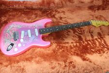 NUOVO Fender made in Japan 60s Stratocaster Rosa Traditional Paisley