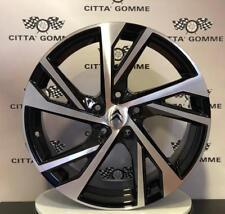 """Cerchi in lega Citroen C4 Grand C4 Picasso DS7 Crossback da 18"""" NUOVI ESSE8 TOP"""