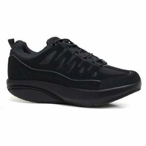 MENS FITNESS TRAINERS ACTIVE SHAPE STEP UP TONING GYM ROLLER WALKING SHOES SIZE