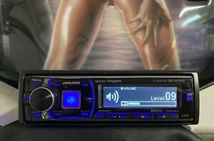 Alpine CDE-HD149BT Fully Tested. Premium Sound Quality. 4 Volt Outputs. Remote.