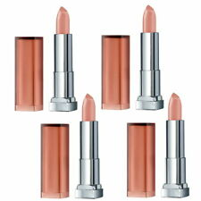 4x Maybelline Color Sensational Lipcolour Lipstick 728 HONEY BEIGE SAME DAY SHIP