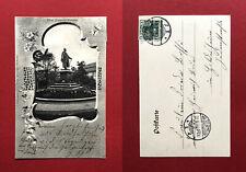 Jugendstil AK NORDHAUSEN 1903 Bismarck Denkmal   ( 61679