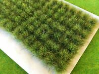 Summer Tall Wild Tufts - Model Railway Scenery Warhammer Bushes Static Grass Big