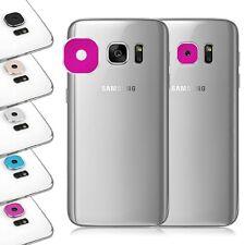 x1 Protector Aro Metal Funda Lente De La Camara Para Samsung Galaxy S7 / Edge