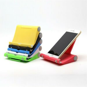 1*Universal Cell Phone Desk Table Desktop Stand Holder For Cell Phone Tablet Tab