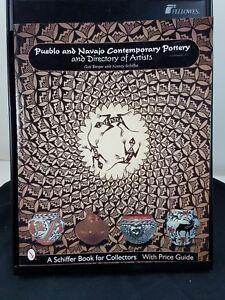 2000 PUEBLO & NAVAJO COMTEMPORTY POTTERY Directory of Artist Berger Schiffer