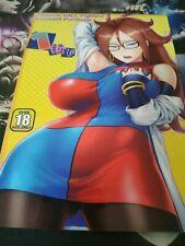 Dragon Ball Fighter Z Manga Hentai Pornbook Android 21 Japanese