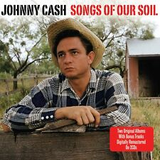 Johnny Cash - Songs Of Our Soil - Two Original Albums (2CD 2010) NEW/SEALED