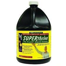 Superthrive Gallon - 128 oz ounces B Vitamins Plant Food Hormones super thrive