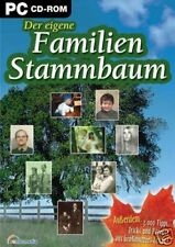 MEIN FAMILIENSTAMMBAUM - Ahnenforschung am PC - NEU&OVP