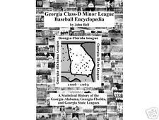 Georgia Class-D Minor League Baseball Encyclopedia b...