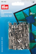 Prym Safety pins Hardened & Tempered 38mm 75pc