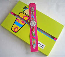 CAḈULA! Colorful, Whimsical Swatch SPECIAL PK, Portugal Release Only! NIP-RARE!