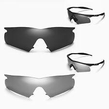 WL Polarized Black + Titanium Replacement Lenses For Oakley New M Frame Hybrid