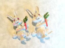 VINTAGE MOM & BABY EASTER BUNNY PINS SO CUTE GERRYS??