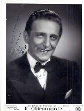 Autografo - Autograph - Carlo Moreno - Armando Simonini - Bologna - Macario
