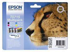 4x Original PATRONEN EPSON DX4000 DX8450 DX7000F SX200 SX400 SX405 wifi SX415S21