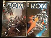 ROM Spaceknight #6 and Retailer Incentive Variant (2016)