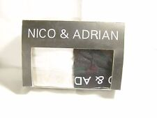2 Nico and Adrian sport briefs 1 white and 1 black new in box.