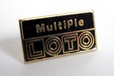 Pin's vintage french games Multiple Lotto in couleur years 90s lot P004