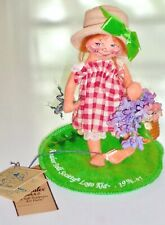 New ListingVintage Annalee Doll Little Mae Flowers Society Logo Kid 1996-1997 with Tag