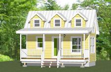 20x10 Tiny House -- 281 sq ft -- PDF Floor Plan -- Model 2