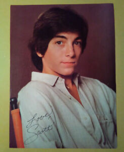 Magazine Pinup~ SCOTT BAIO ~1970s ~White shirt pose