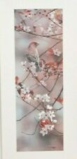 Hint of Pink - House Finch,Terry Isaac, Limited Edition Lithograph, 101/950,Coa