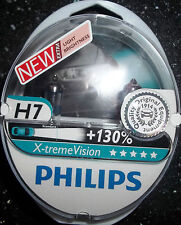PHILIPS H7 XTREME VISION UPGRADE BULBS TWIN H7 X-TREME VISION H7+130%MORE LIGHT