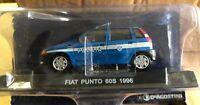 "DIE CAST "" FIAT PUNTO 60S 1996 "" POLIZIA SCALA 1/43"