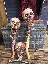 Ooak Halloween Prop Voodoo Skulls