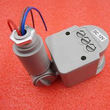 Dc 12V 12M Security Infrared Pir Motion Sensor Detector Wall Led Light Rf 140°