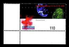 2130 ** - EXPO 2000 Hannover - Eckrand unten links - postfrisch