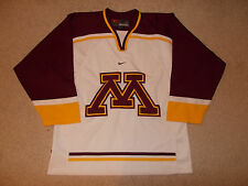 2000s University of Minnesota Gophers Nike Team Hockey Jersey Championship Year