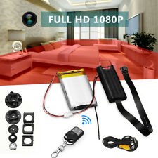 FHD 1080P Wireless Remote Control Hidden Cam DVR DV MINI DIY Module Nanny Camera