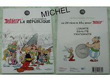 Album Collector pour classer les 24 pièces 10 euros Argent Astérix 2015