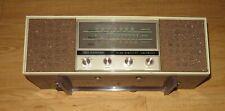 1960 Lloyds High Fidelity Am/Fm Afc Tube Radio Model Tm-821A Works Great!
