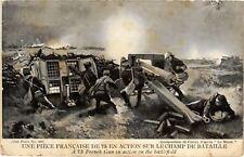 CPA  Militaire - Une Piece Francaise de 75 en Action  (695768)