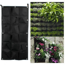 18 Pocket 1Stück Vertikale Hängende Wand Garten Pflanze Taschen Pflanzer  Freien